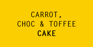 Carrot, Choc, & Toffee Cake