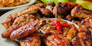 Honey Roast Chicken Wing Per Platter